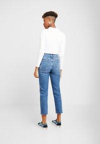 Topshop - Straight leg jeans - blue denim - 2
