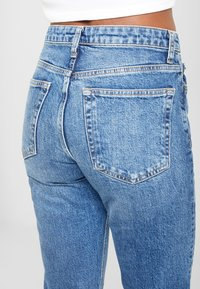 Topshop - Straight leg jeans - blue denim - 5