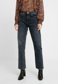 Topshop - Straight leg jeans - sulphur blue - 0