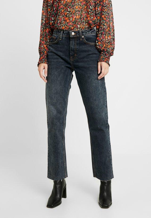 Jeans straight leg - sulphur blue