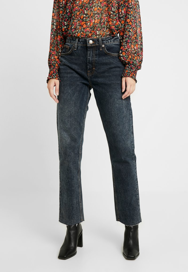Topshop - Straight leg jeans - sulphur blue