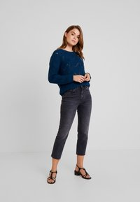 Topshop - Straight leg jeans - washed black - 1