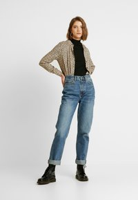 Topshop - DAD - Relaxed fit jeans - blue denim - 1