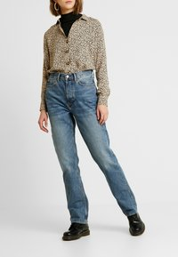 Topshop - DAD - Relaxed fit jeans - blue denim - 0