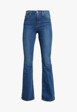 JAMIE - Jean flare - blue denim