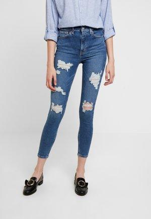 SUPER JAMIE - Jeans Skinny Fit - blue denim