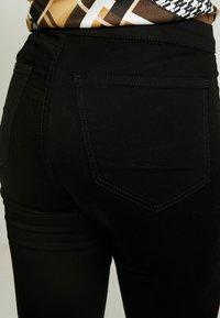 Topshop - PURE JONI - Skinny džíny - black - 4