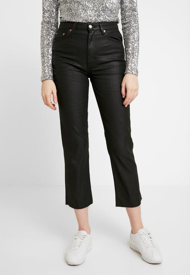 COAT - Jeans a sigaretta - black
