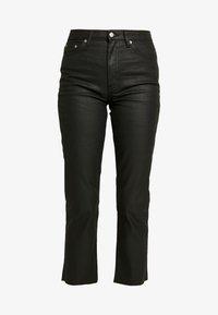 Topshop - COAT - Jeans straight leg - black - 4