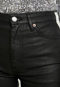 Topshop - COAT - Jeans straight leg - black - 5