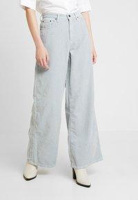 Topshop - WIDE - Pantalones - blue - 0