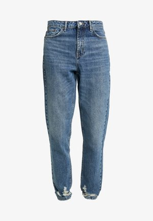 HEM MOM - Jean boyfriend - blue denim