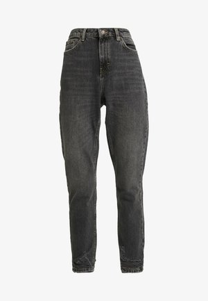 HEM MOM - Jeansy Relaxed Fit - washed black