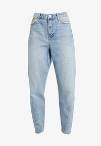 Topshop - TWIST SEAM MOM - Jeansy Relaxed Fit - mid blue - 3
