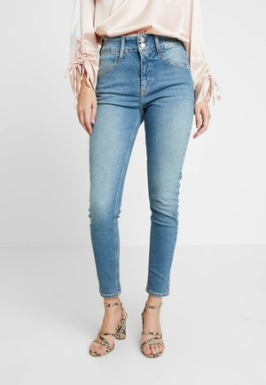 BUTTON JAMIE - Jeans Skinny Fit - mid blue