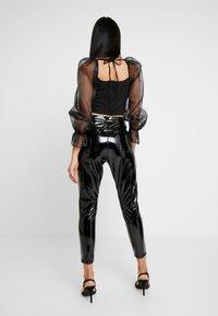Topshop - JAMIE - Kalhoty - black - 2