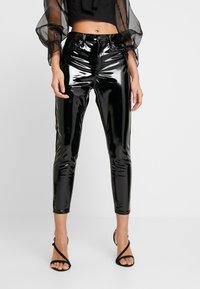 Topshop - JAMIE - Kalhoty - black - 0