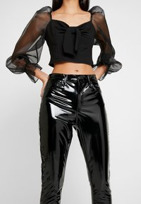 Topshop - JAMIE - Kalhoty - black - 4