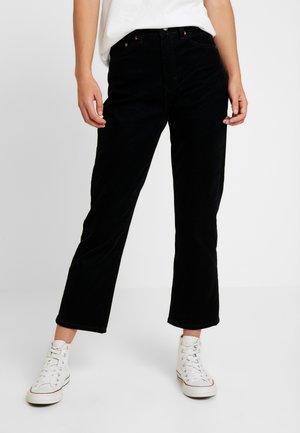 STRAIGHT - Straight leg jeans - black