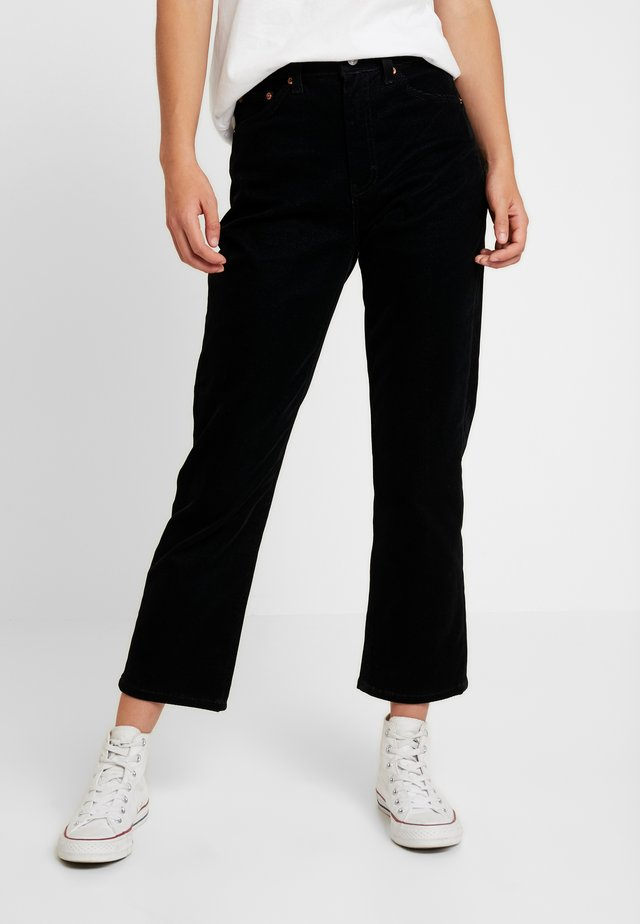 STRAIGHT - Jeans a sigaretta - black