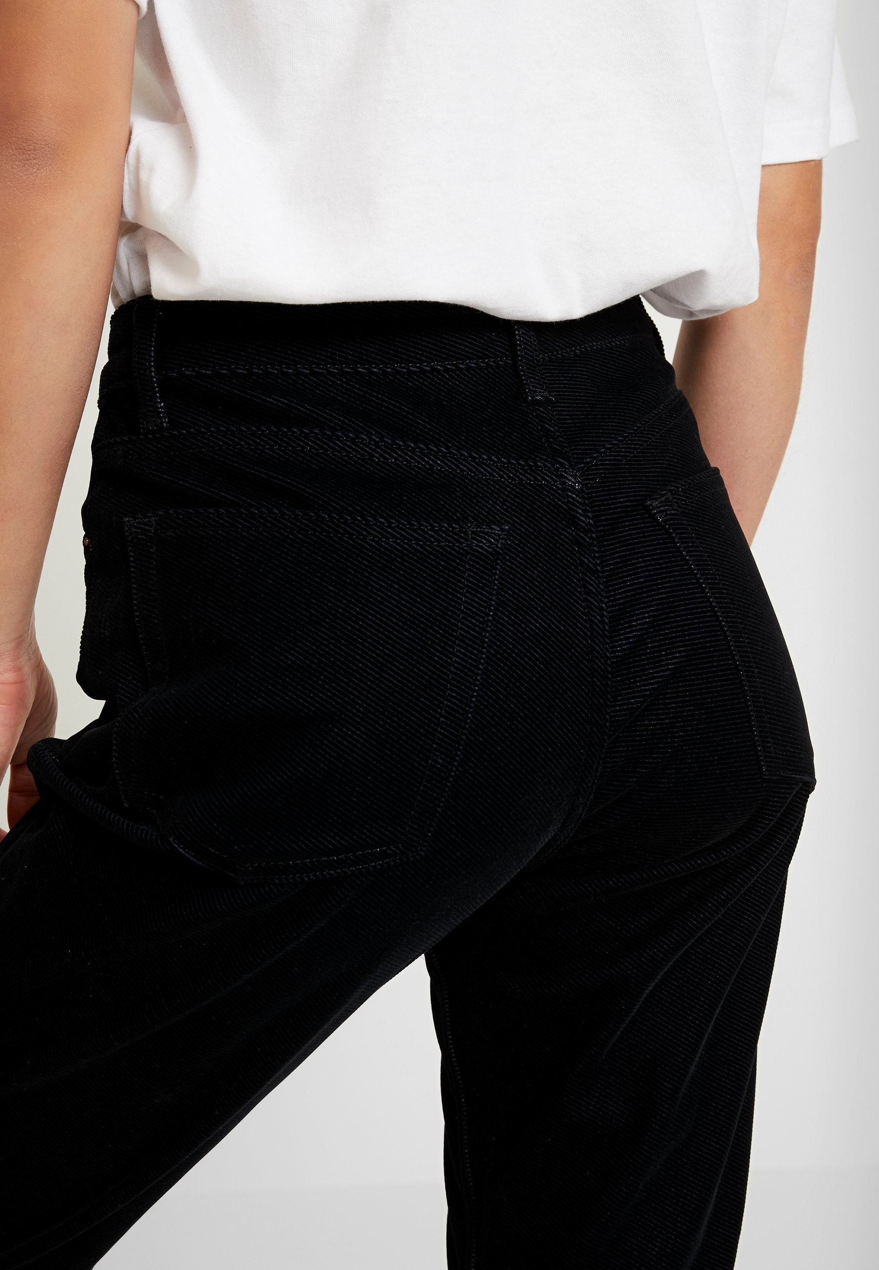 Topshop Straight - Jeans Leg Black