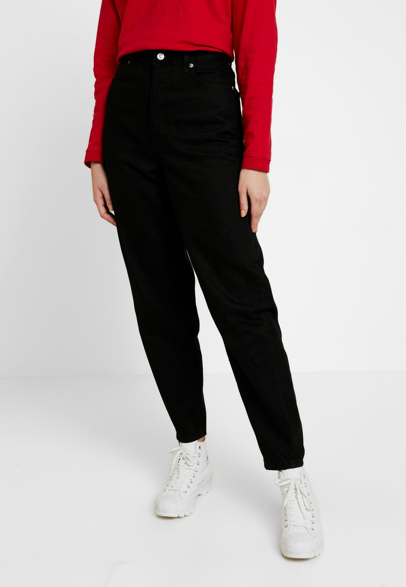 Topshop - OVOID - Relaxed fit jeans - black