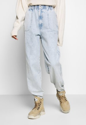 ELASTIC BAGGY - Jeans baggy - bleached denim
