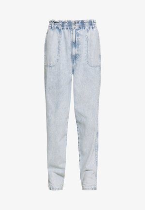ELASTIC BAGGY - Džíny Relaxed Fit - bleached denim