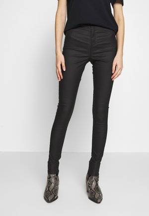 COATED JONI - Jeans Skinny Fit - black