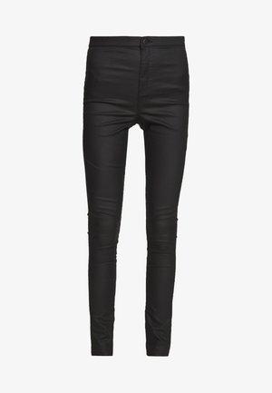 COATED JONI - Jeans Skinny - black