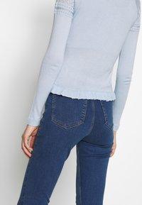Topshop - JONI - Jeans Skinny Fit - blue denim - 3