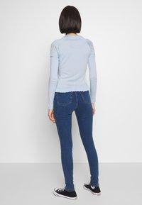 Topshop - JONI - Jeans Skinny Fit - blue denim - 2