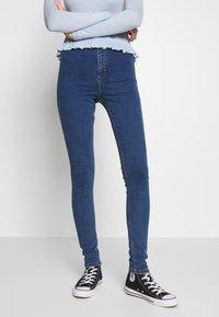 Topshop - JONI - Jeans Skinny Fit - blue denim - 0