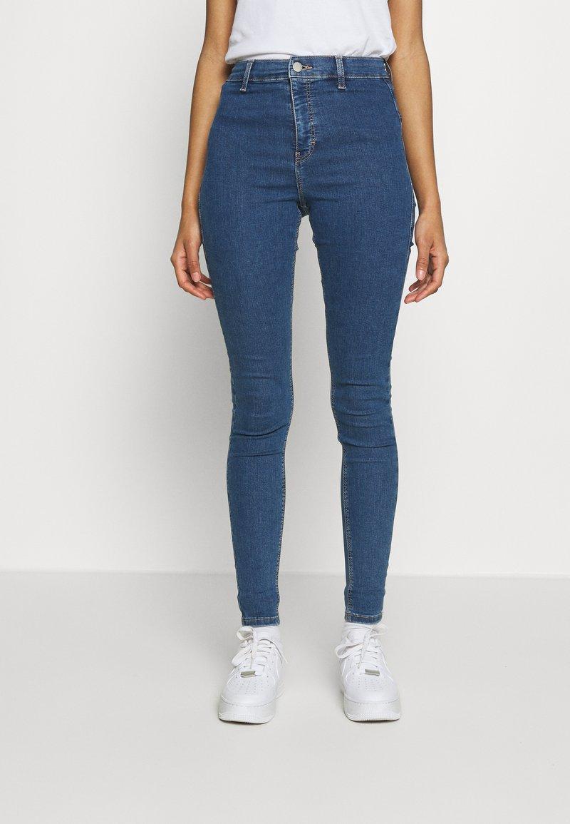 Topshop - JONI  - Jeansy Skinny Fit - blue denim