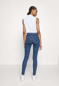 Topshop - JONI  - Jeansy Skinny Fit - blue denim - 2