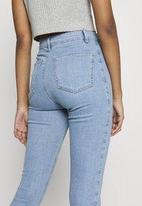 Topshop - JONI  - Jeans Skinny Fit - bleached denim - 4