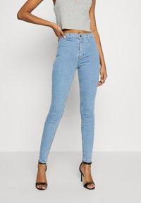 Topshop - JONI  - Jeans Skinny Fit - bleached denim - 0