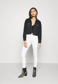 Topshop - JAMIE  - Jeansy Skinny Fit - offwhite - 1