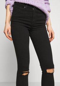 Topshop - ARIZONA RIP JAMIE - Jeans Skinny Fit - black - 4