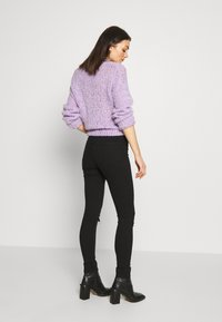Topshop - ARIZONA RIP JAMIE - Jeans Skinny Fit - black - 2