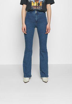ZED JONI - Široké džíny - blue denim