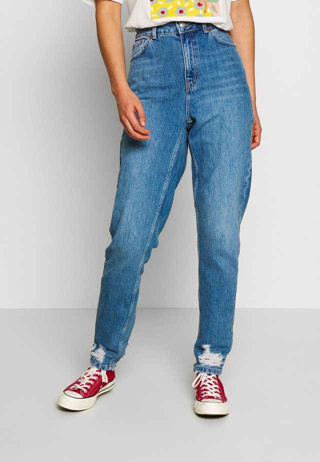 IBIZA POCKET MOM  - Relaxed fit jeans - blue denim