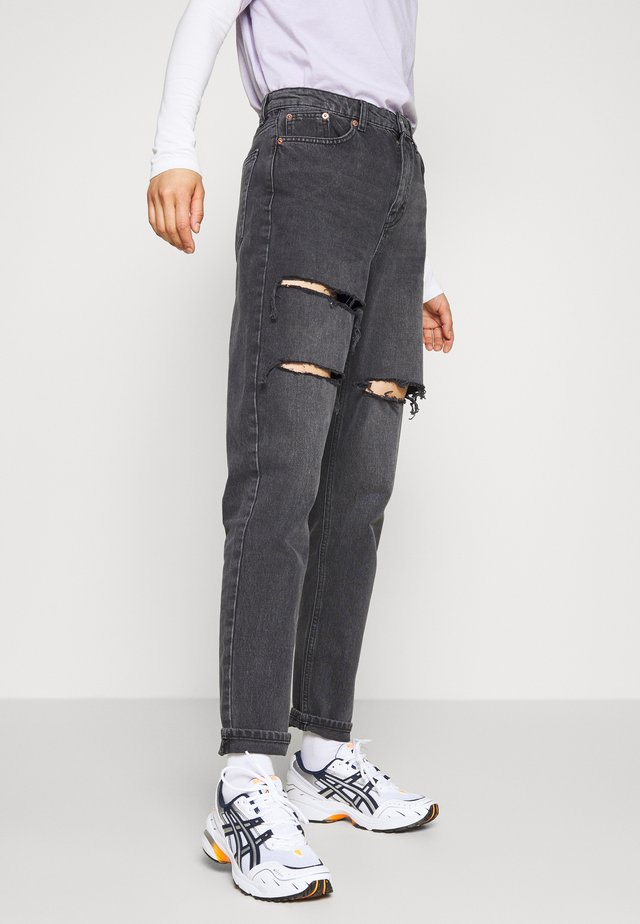 SOFIA MOM - Jeans baggy - washed black