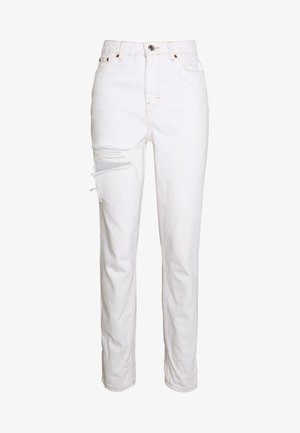 OHIO RIP MOM - Relaxed fit jeans - off-white