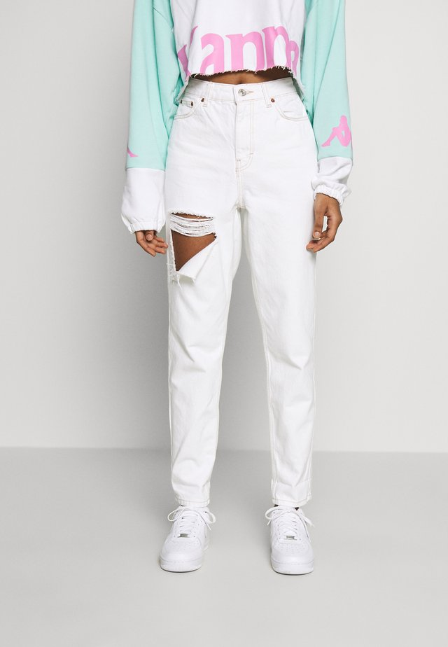 OHIO RIP MOM - Jeansy Relaxed Fit - off-white
