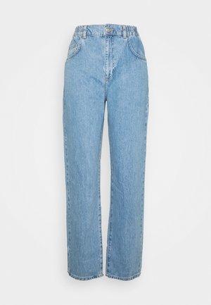 ELASTIC BALLOON  - Jeans a sigaretta - bleached denim