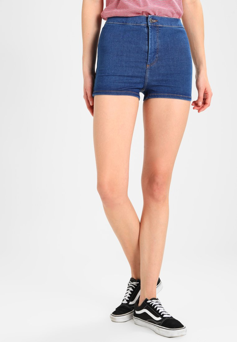 Topshop - JONI - Jeans Short / cowboy shorts - blue denim
