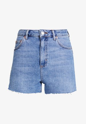NEW PREM MOM - Jeansshorts - blue denim