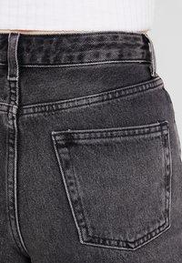 Topshop - MOM - Jeansshorts - black - 5