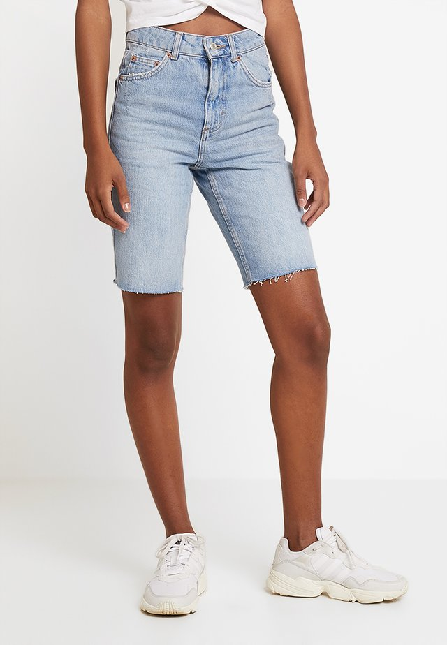 RIGID CYCLE - Shorts vaqueros - blue denim